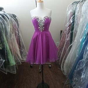 Blush Prom style 9883 in Violet sz12